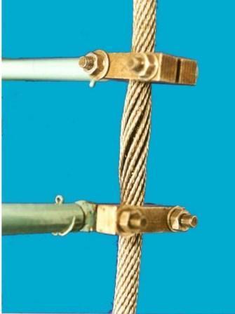 الف - قسمتی از یک طناب (بدون کشیدگی) شکل پ -1 –بازرسی درونی ( ادامه دارد) .
