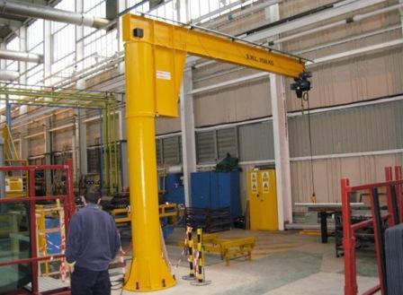 free standing jib cranes