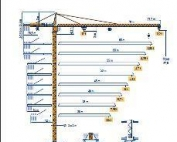 Tower Crane Load Chart