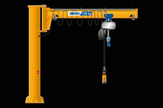 بازرسی جرثقیل بازویی دکتر صنعت jib crane inspection