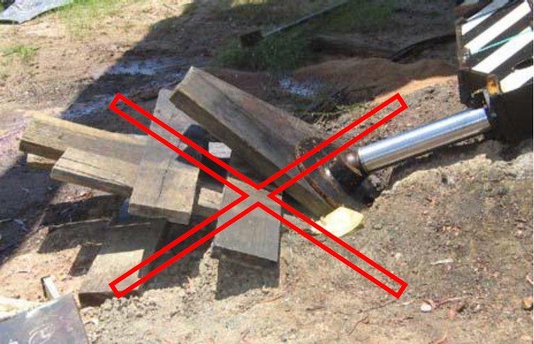زیر سازی جک های هیدرولیک جرثقیل متحرک