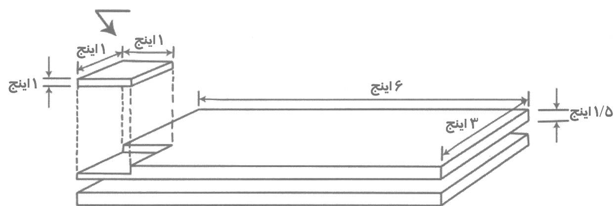 مثال محاسبه جرم بار از طریق حجم و چگالی